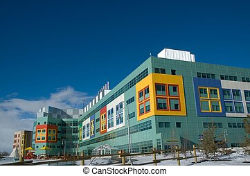 Childrens Hospital - Modern hospital for the treatment of...
