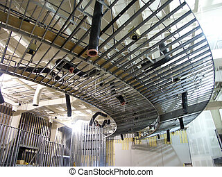 Metal Framing - Construction of interior of commercial...