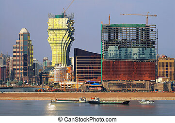 Constructions of new casinos in Macau - The constructions of...
