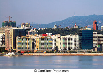 Moderm residential apartments, Macau