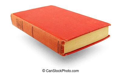 libro, rosso