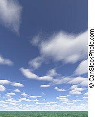 clouds vertical