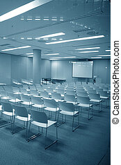 Educational showroom - Modern multimedia presentation room...