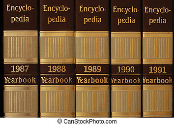 Encyclopedia - Series of encyclopedia from 1987 to 1991