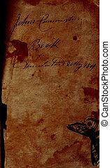średni, 1800s, pisanie