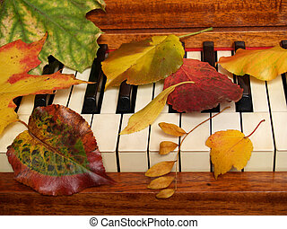 Fall Ivory Tickling - Time for autumn music !