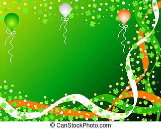 Irish celebration - St Patricks day celebration with...