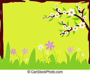 Spring flowers - Colorful spring flowers