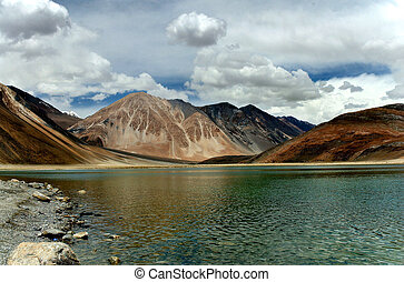 Pangong Lake - What would you expect to see when you get to...