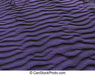 Lavender Sand - Sand dunes, post-processed for lavender...