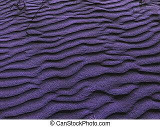 Lavender Sand - Sand dunes, post-processed for lavender...