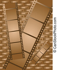 old brown film - Some brown film that can be used as a...