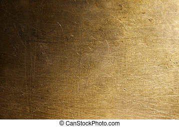 grunge metal background - old texture special light and warm...
