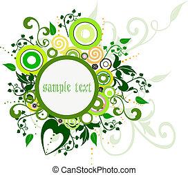 Floral Background - Floral Background - illustration