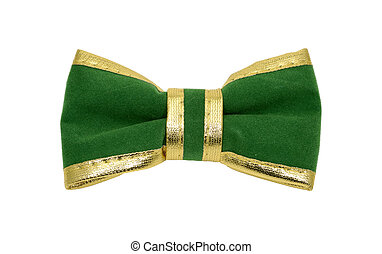 Bowtie - Photo of a Green Bowtie - St. Patricks Day Object