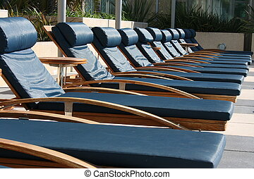 Lounge - Poolside lounge chairs