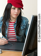 Graphic artist or retoucher - Graphic design, digital...