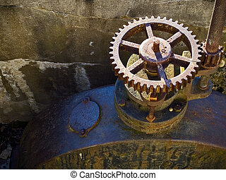Shut-Off Sprocket - A industrial shut-off sprocket valve and...