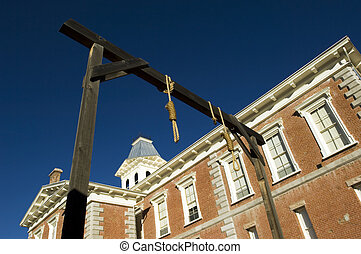 Tombstone courthouse - National historical landmark in...
