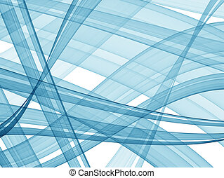 abstract blue background - high quality render