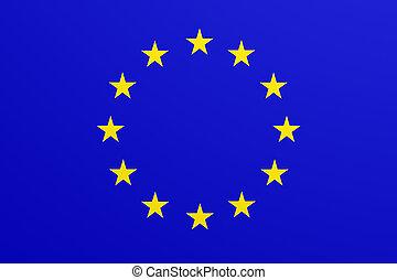 europeu, bandeira