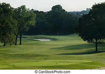 Golf course - Image of a golf course fairway