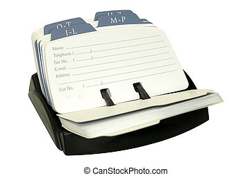 Rolodex - Photo of a Rolodex - Office Related