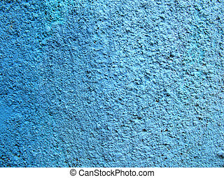 Blue texture backgro - Blue concrete wall with lovely shades...
