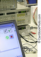 Testing in lab - Documenting test results on a computer