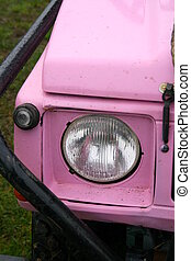 Pink 4x4 Off Road Vehicle