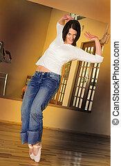 #2, dançarino, modernos