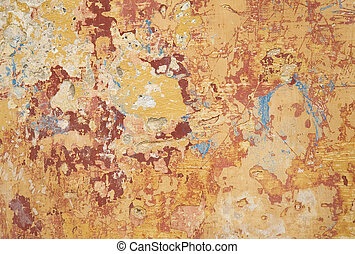 multi colour and texture paint on wall - multi colour and...