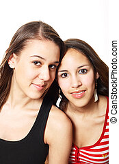 Mistaken Sisters - Two friends, who are often mistaken for...
