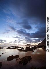 Sea Landscape 3 - Rocky Beach, Bettys bay - Western Cape,...