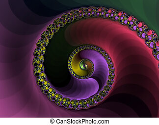 Spiral - A colorful spiral