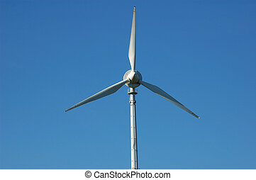 Windturbine close up