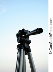 aluminium tripod - tripod on the sky