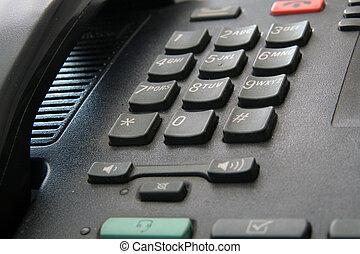 telephones keyboard - telephones black keyboard