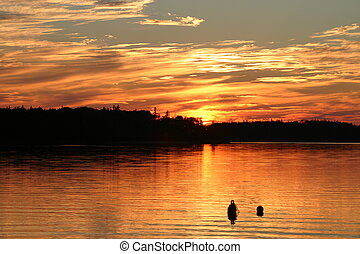 Sunset - Another version of the St. Margaret\\\'s Bay sunset...