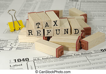 Tax Refund - Tax Related Items and Rubberstamps - Tax Refund...