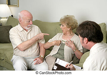 Counseling - Its All Her Fault - A senior couple seeking...