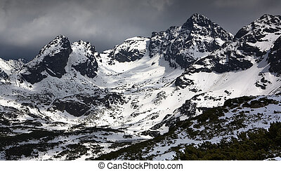 Tatry mountais - Tatry mountains during winter Picture taken...