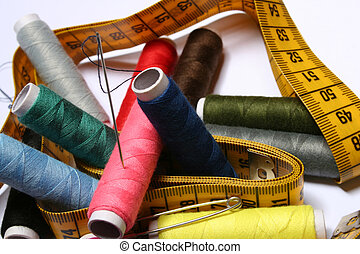 Sewing Kit - Digital photo of utensils for sewing