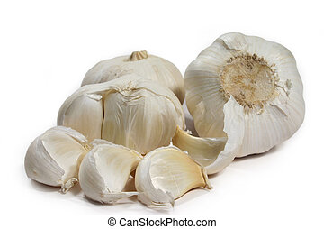 garlic bulbs - fresh garlic bulb
