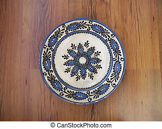 Traditional Plate - An old transilvanian traditional plate...