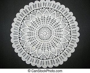 lace doily - intricate lace doiley