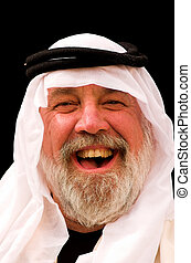 Laughing Arab