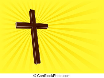 Holy Cross - 1 - An illustration of a cross, symbol of...