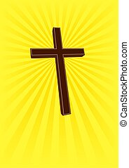 Holy Cross - 2 - An illustration of a cross, symbol of...