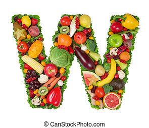 alfabeto, saúde